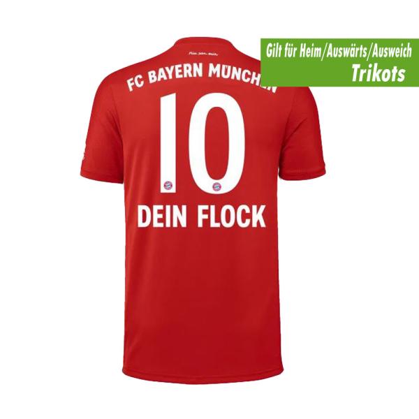 Bayern München Beflockung